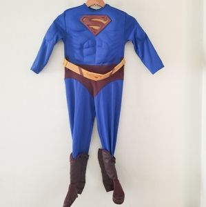 Superman costume with muscles small